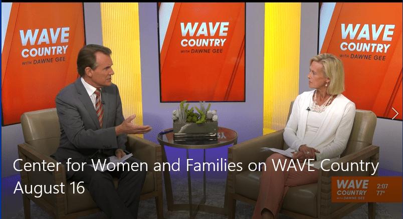 WAVE newscast screenshot